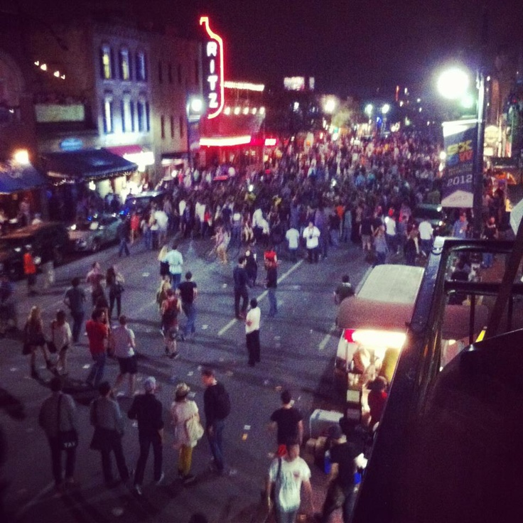 Downtown Austin Tuesday Night