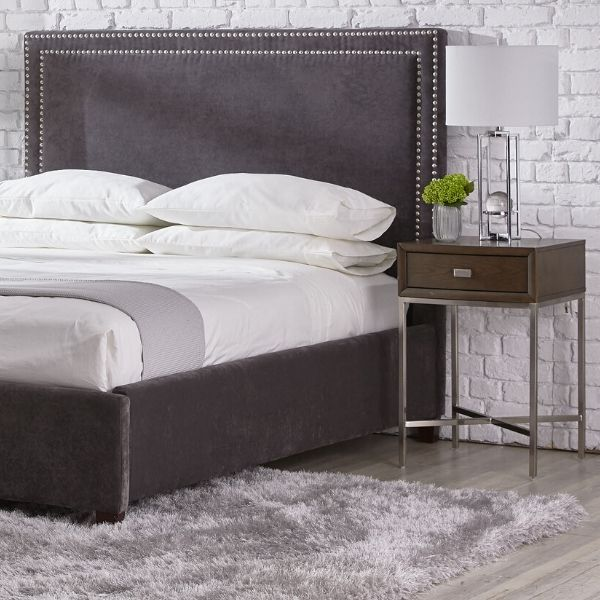Cloud Queen Upholstered Bed Charcoal Upholstered Beds Queen Upholstered Bed Bed Sizes