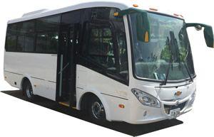 Vehiculos. Línea 18 a 32 pasajeros. Contamos con una amplia cobertura de vehículos los cuales cuentan con, Seguro de accidente para pasajeros, comunicación con la central logística de operaciones vía celular, aire acondicionado, último modelo, conductores profesionales.