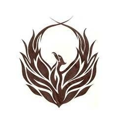 Tribal Phoenix Tattoo Idea Picture In Category  Tattoos Picture #4780