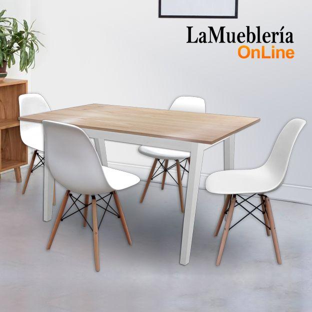 M s de 1000 ideas sobre sillas de comedor blancas en - Sillas blancas comedor ...