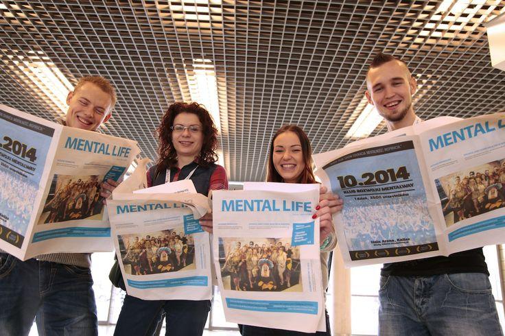 Czytamy, czytamy! #MentalLIFE - pierwsze wydanie gazety #MentalWay #NMNS
