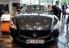 Prezentacja nowego Maserati Quattroporte z silnikiem 3.8cc bi-turbo V8, o mocy 530 KM w salonie Lexus w Gdyni.