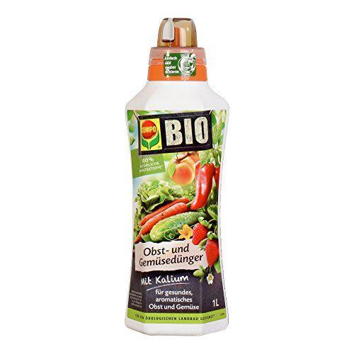 Compo Bio Obst Und Gemüsedünger Für Alle Obst Und Gemüsesorten