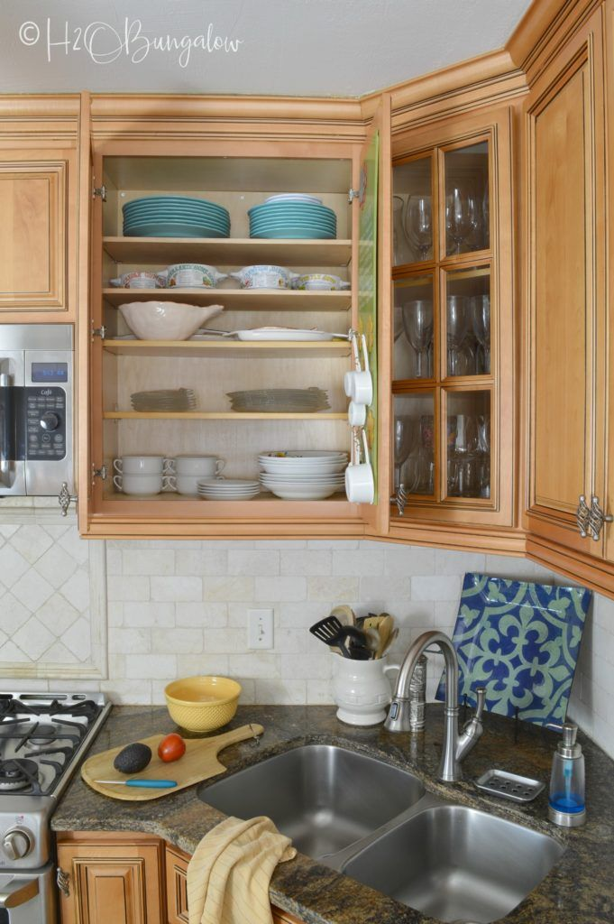 How To Add Extra Shelves To Kitchen Cabinets Kitchen Arrangement Kitchen Cabinet Shelves Kitchen Cabinets