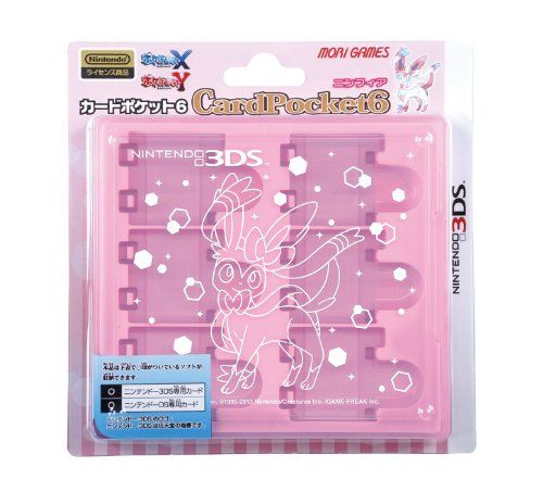 Pokemon Xy 3Ds Card Pocket 6 Game Case Sylveon Mori Games Nintendo Ds, 2015 Amazon Top Rated Cases & Storage #VideoGames