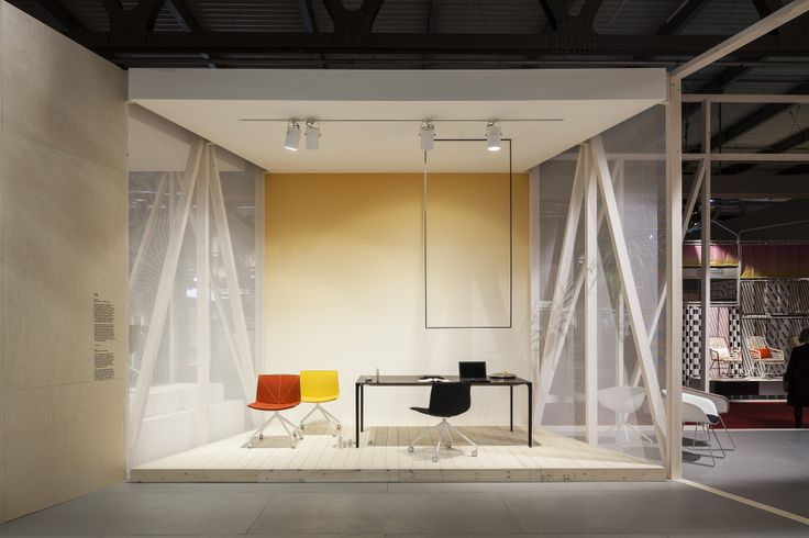Arper Milano 2014 Catifa chair + Nuur table