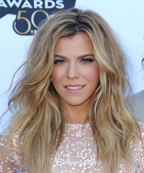 Kimberly Perry Hairstyle - Long Straight Casual -