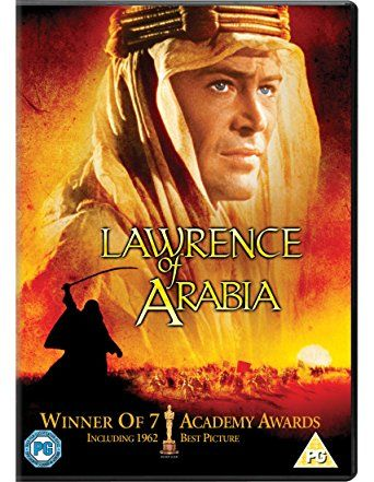 Lawrence of Arabia DVD. David Lean's lush, Oscar-winning biopic stars Peter O'Toole as T.E. Lawrence, the Oxford-educated British army officer who aided the Arabs in their revolt against the Turks. Teaming up with Sherif Ali (Omar Sharif), Lawrence crosses a desert (considered uncrossable) in order to join two separate Arab tribes together as a single fighting force #epicread