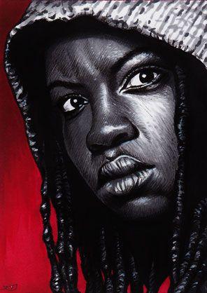 The Walking Dead - Michonne by Trev--Murphy.deviantart.com on @deviantART