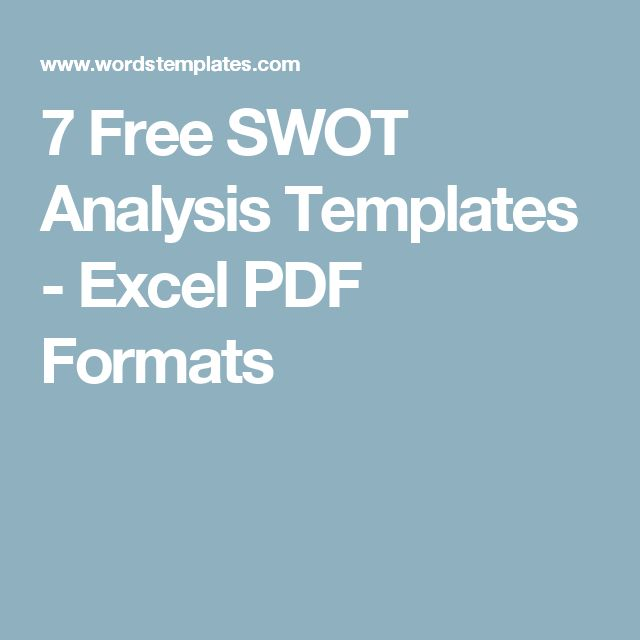 what is swot analysis in business pdf