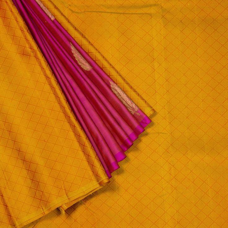 Kanakavalli Handwoven Kanjivaram Silk Sari 1006758 - Brands / Kanakavalli - Pari... 2
