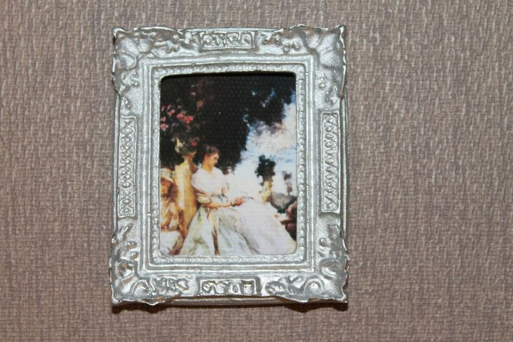 DOLLHOUSE MINIATURE Painting/ Picture # 100