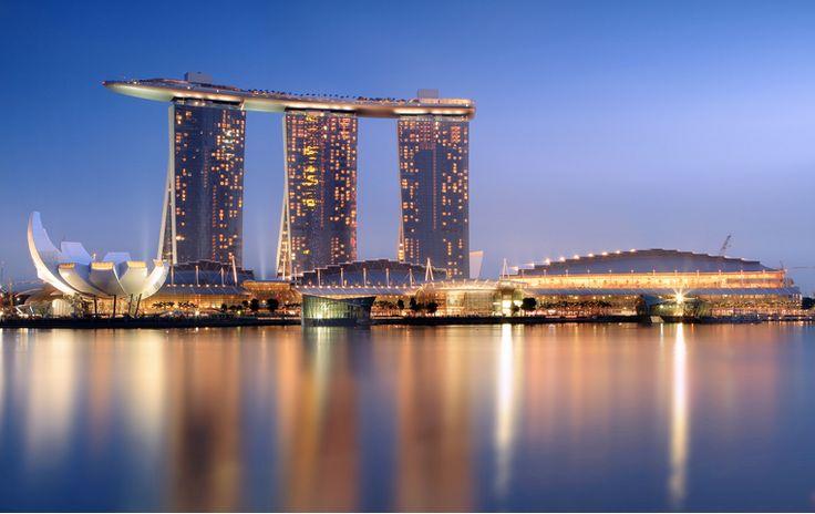 Marina bay sands Singapour.
