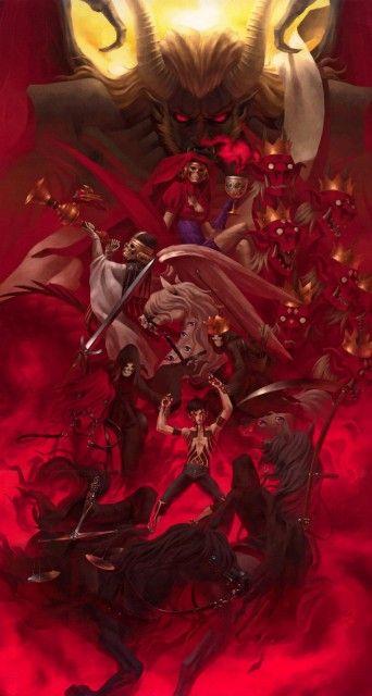 Shin Megami Tensei Demons  Kazuma Kaneko, Shin Megami Tensei, White Rider, Lucifer (Shin Megami Tensei), Black Rider