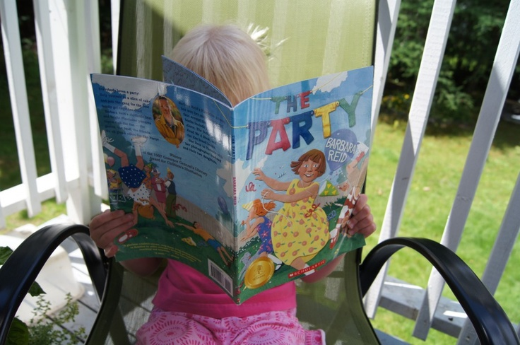 Read to Me Monday ~ The Party by Barbara Reid