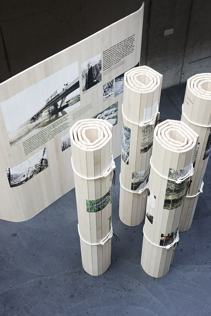 Nicola Stäubli and Julien Junghäni – Mobile exhibition walls for the Department of Nature, Bern