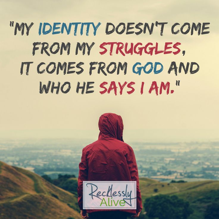 my struggles with identity as an adolescent Shape your identity or it will shape you  it hardly seems fair for me to pontificate about personal identities without sharing how i view my own identity.