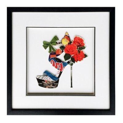 Obraz przestrzenny High Heel B Rose 104-9012