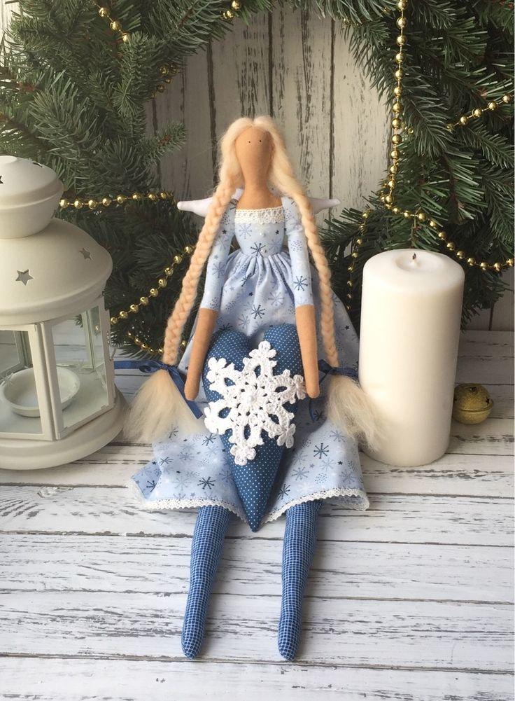 Tilda doll | Купить Тильда новогодний Ангел в интернет магазине на Ярмарке Мастеров