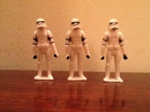 Star Wars Micro Stormtroopers x3