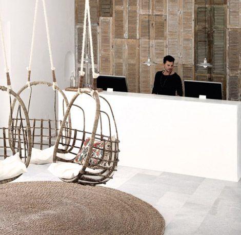 Bohemian aesthetic boutique hotel interior design ideas