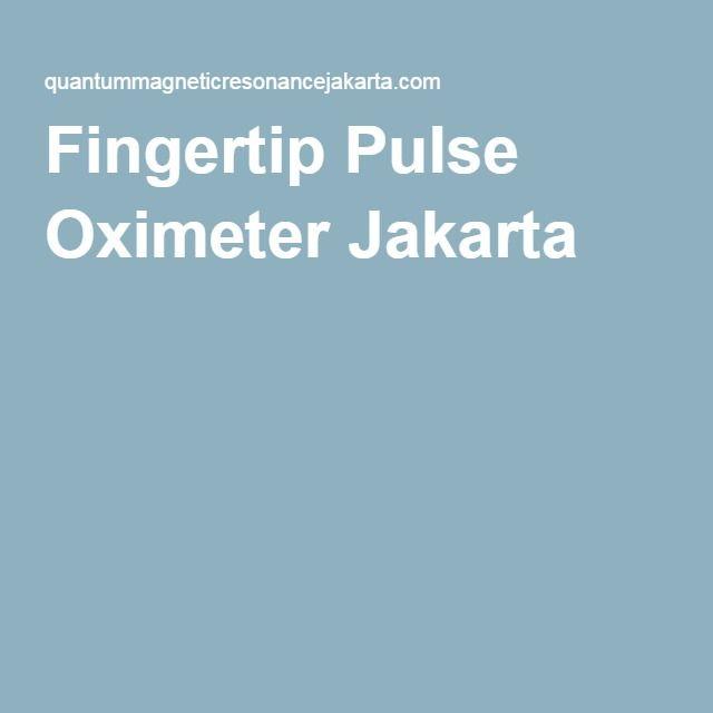 Fingertip Pulse Oximeter Jakarta