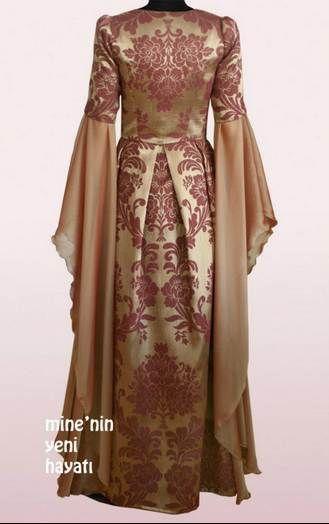 Osmanlı tarzı yeni abiye kıyafetleri