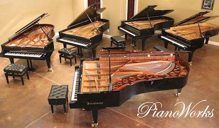 Concert Grand Pianos Atlanta, Concert Grand Pianos for sale, used concert grand pianos, semi-concert grand pianos