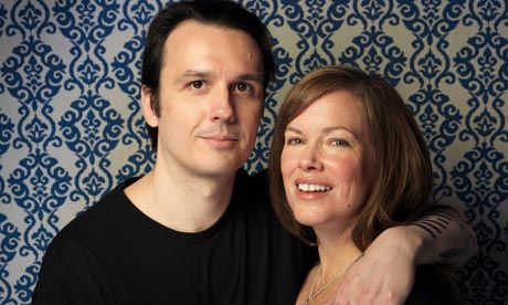 'We weren't able to touch each other at all until we were married': Damien Echols and his wife Lorri. Photograph: Victoria Will/AP