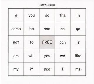 Sight Word Bingo: Sight Words, Homeschool, School Ideas, Kindergarten, Classroom Ideas, Sight Word Bingo, Relentlessly Fun, Kid