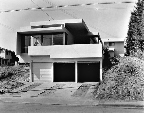 R M Schindler Victoria Mcalmon House La Ca 1923