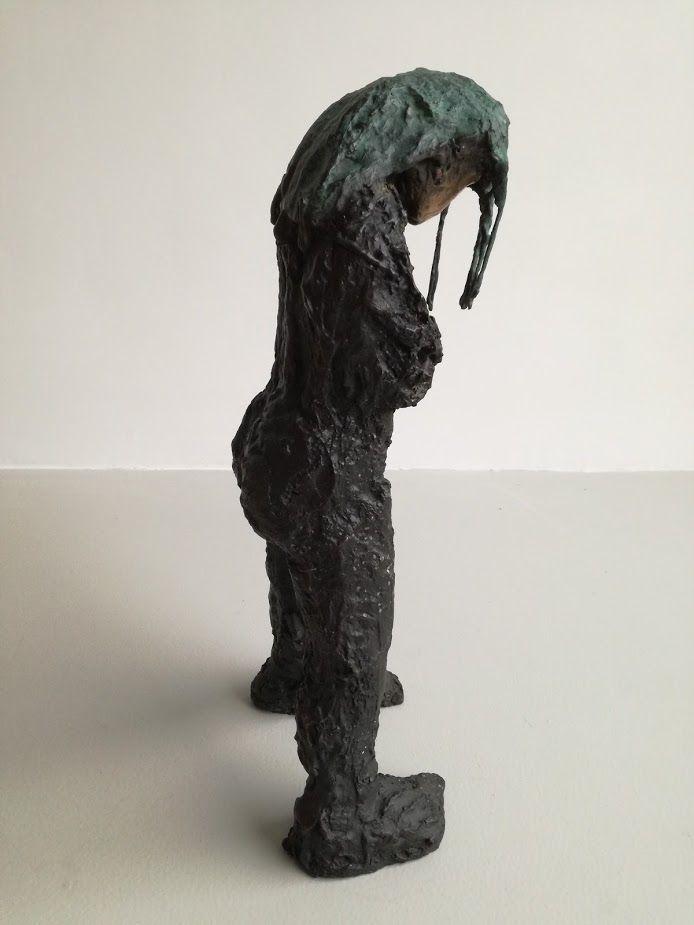 Idol N, bronze sculpture, Marieke Bolhuis 2017