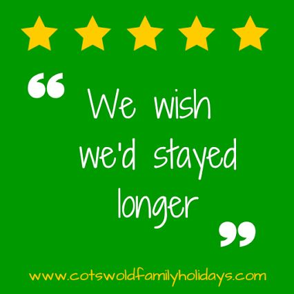 We love hearing how much our guests enjoyed their stay at Daisy Chain. Here is our latest review:  We had a beautiful, relaxing and happy little break at Daisy Chain. Thank you so much. I'm so used to feeling tense on holidays with the kids so I didn't really go with any expectations but when we got there it was just so perfect, everyone was in such a good mood! It was so refreshing to stay in an area and your home that clearly is designed for families with young ones, but also grown up and…