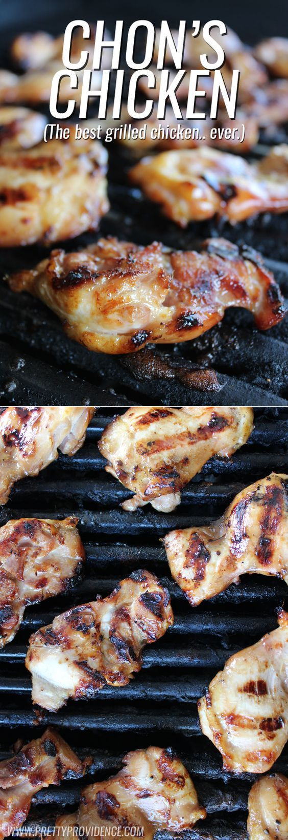 Literally the BEST grilled chicken marinade! I could make this once a week and my husband would be stoked! (Works in the crock-pot or oven too!):