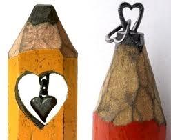pencil lead art!