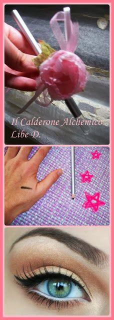 Il Calderone Alchemico Cosmesi Home Made: MATITA NERA PER OCCHI (Libe D.)