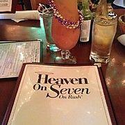 Heaven on Seven for breakfast in chicago