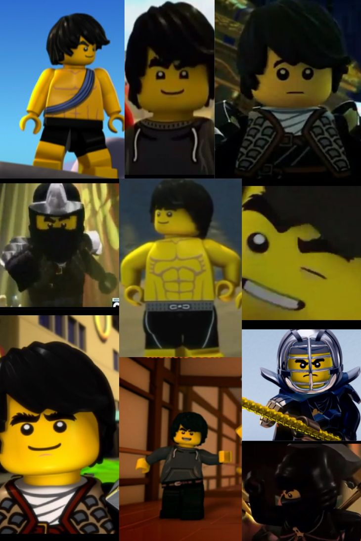 (REUPLOAD) Ninjago Cole Collage by CorporalMarshmallow