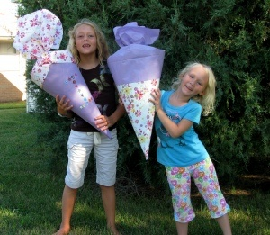 School supply sales are a good time to pick up items for a back-to-school or back-to-homeschool schultüte. #traditions