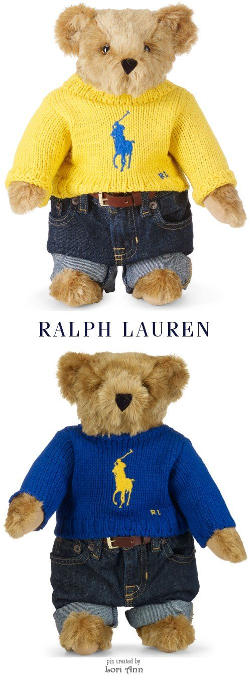 Polo Ralph Lauren Limited Edition Big Pony Bears