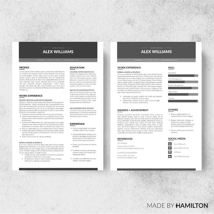 16 Best Cv//Resumee Images On Pinterest | Resume Cv, Resume