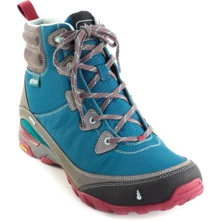 Incredibly lightweight yet extraordinarily supportive, the women's Ahnu Sugarpine waterproof hiking boots are ready to cover miles of trails. Get it only at REI through 9/15/13.