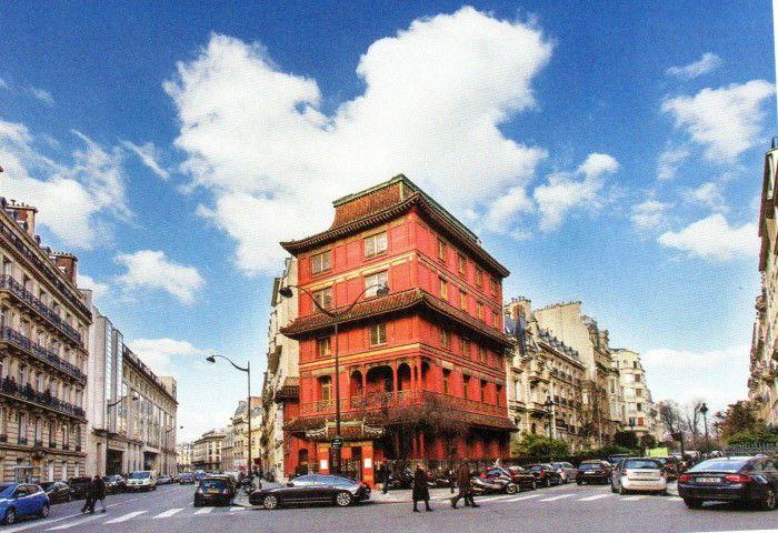 La maison Loo, pagode en plein 8ème arrondissement