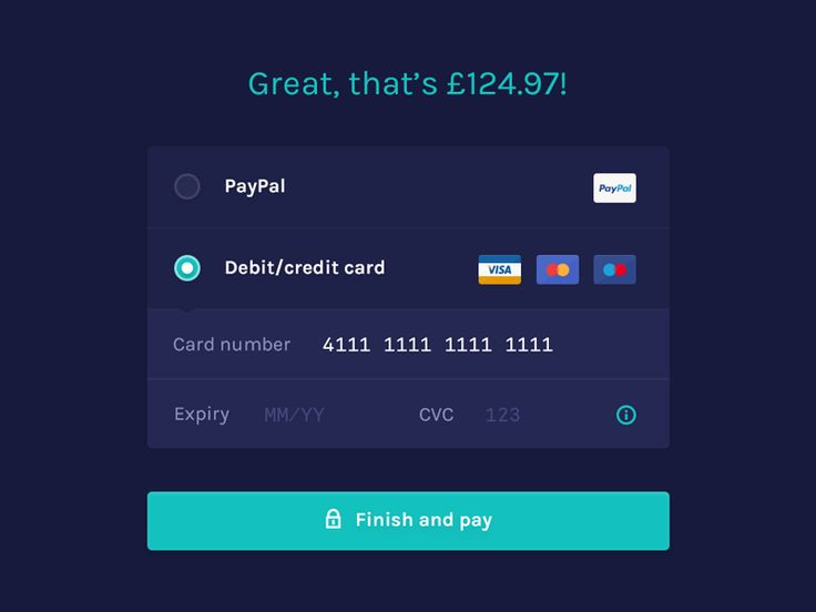 Payment Page Inspiration — Muzli -Design Inspiration — Medium
