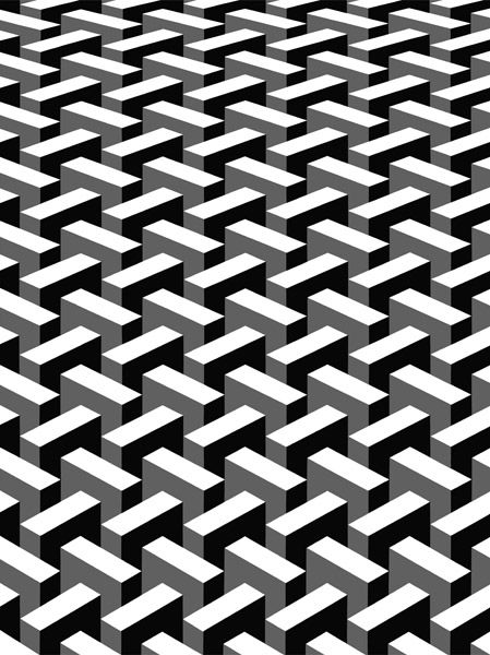 Morandini Marcello black and white and grey pattern