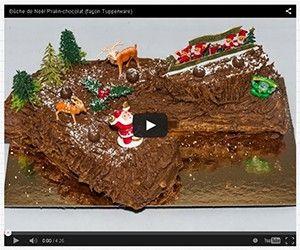 Bûche de Noël Pralin-chocolat