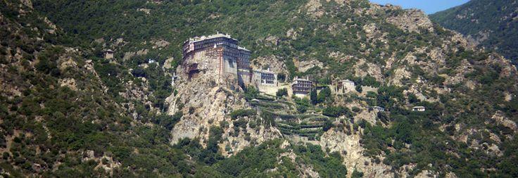'The holy mountain' Mount Athos #Halkidiki #Greece