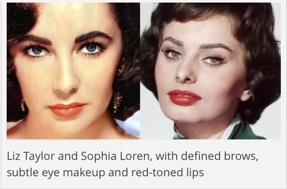 Source: http://hair-and-makeup-artist.com/womens-1950s-makeup/