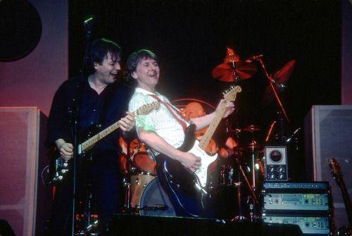 David and Mick Ralphs - 1983